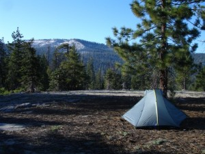 The Double Rainbow Tarptent on Horizon Ridge